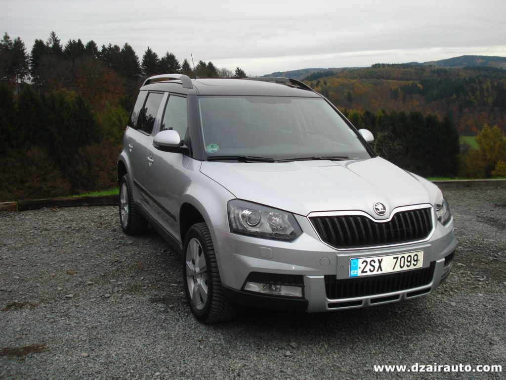 dimension garage avis skoda yeti